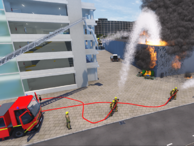 Fire Department Purchases 3-Year Response Simulator Subscription