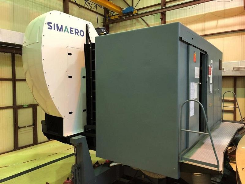 C135 simulator simaero
