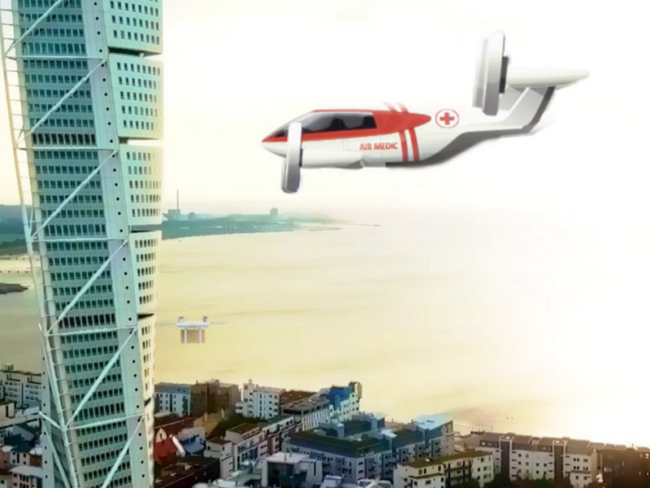 First EU Study on Acceptance of Urban Air Mobility