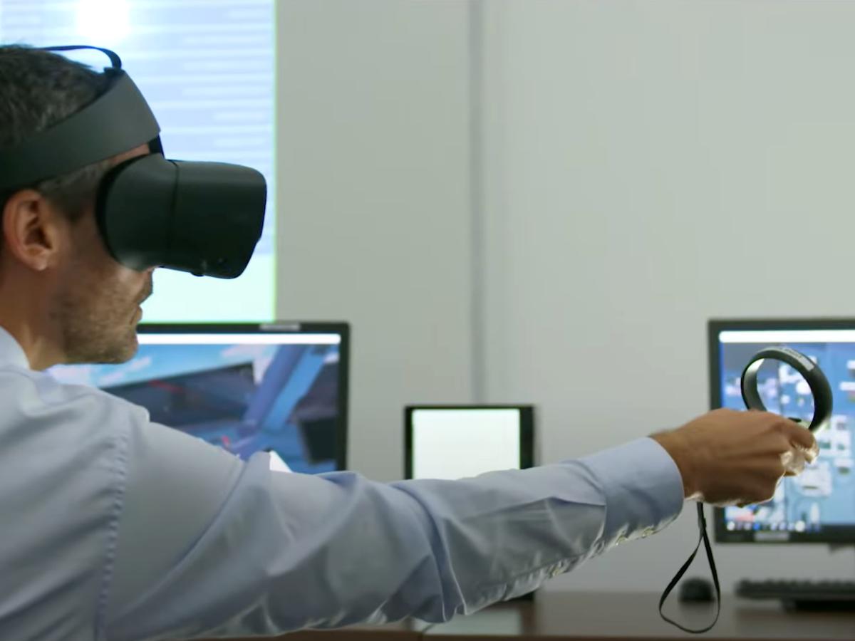 Airbus maintenance VR
