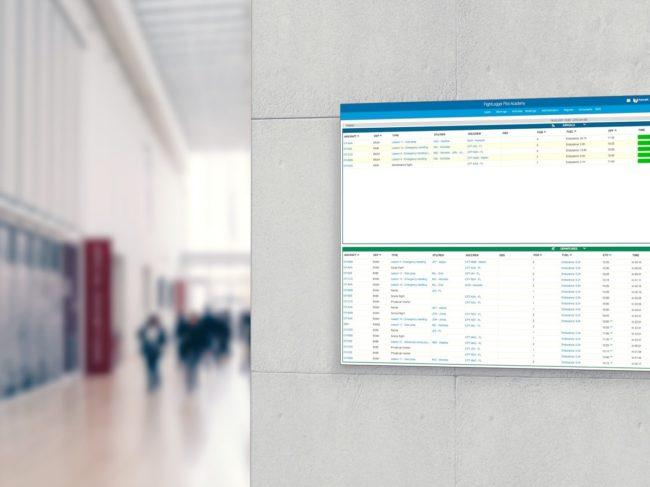 FlightLogger Integrates Departure/Arrival Board into Platform