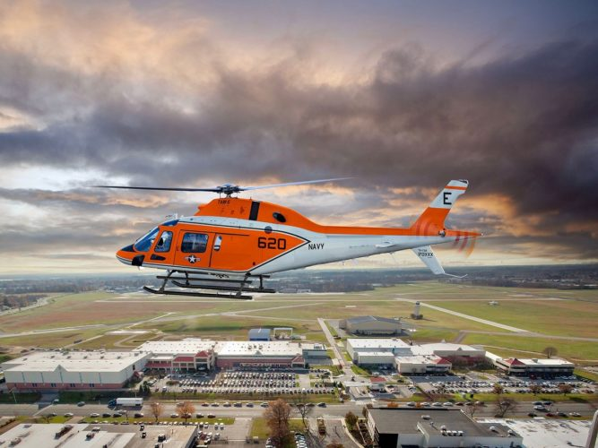 US Navy's First TH-73A Training Helicopter Has Arrived