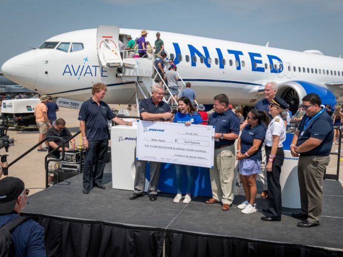 United Aviate Academy to Train Pilots with Boeing Solutions