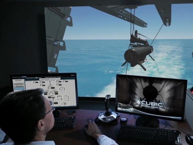 Cubic Reselected to Support Navy Synthetic Warfighting Centre