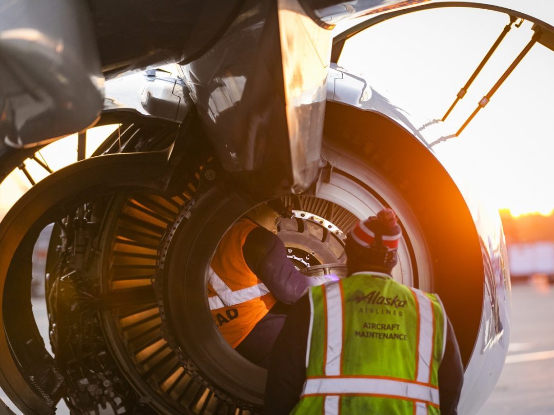 Alaska Airlines and AAR Team to Solve AMT Shortage