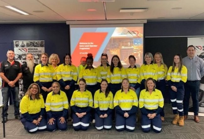 Mineral Resources Hosts Second All-Female Recruits