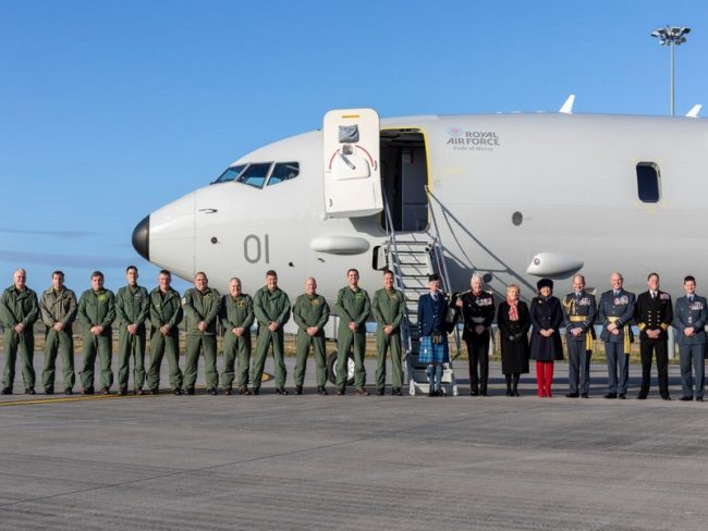 Boeing to Train Royal Air Force Crews for Next 5 Years