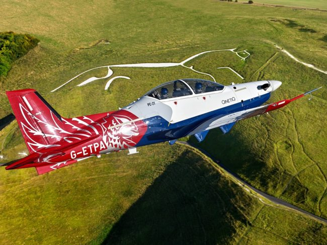 French Air Force Orders Nine Pilatus PC-21s