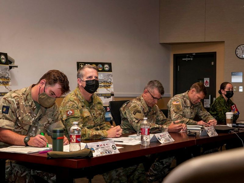 Simulated joint warfighting assessment partnership
