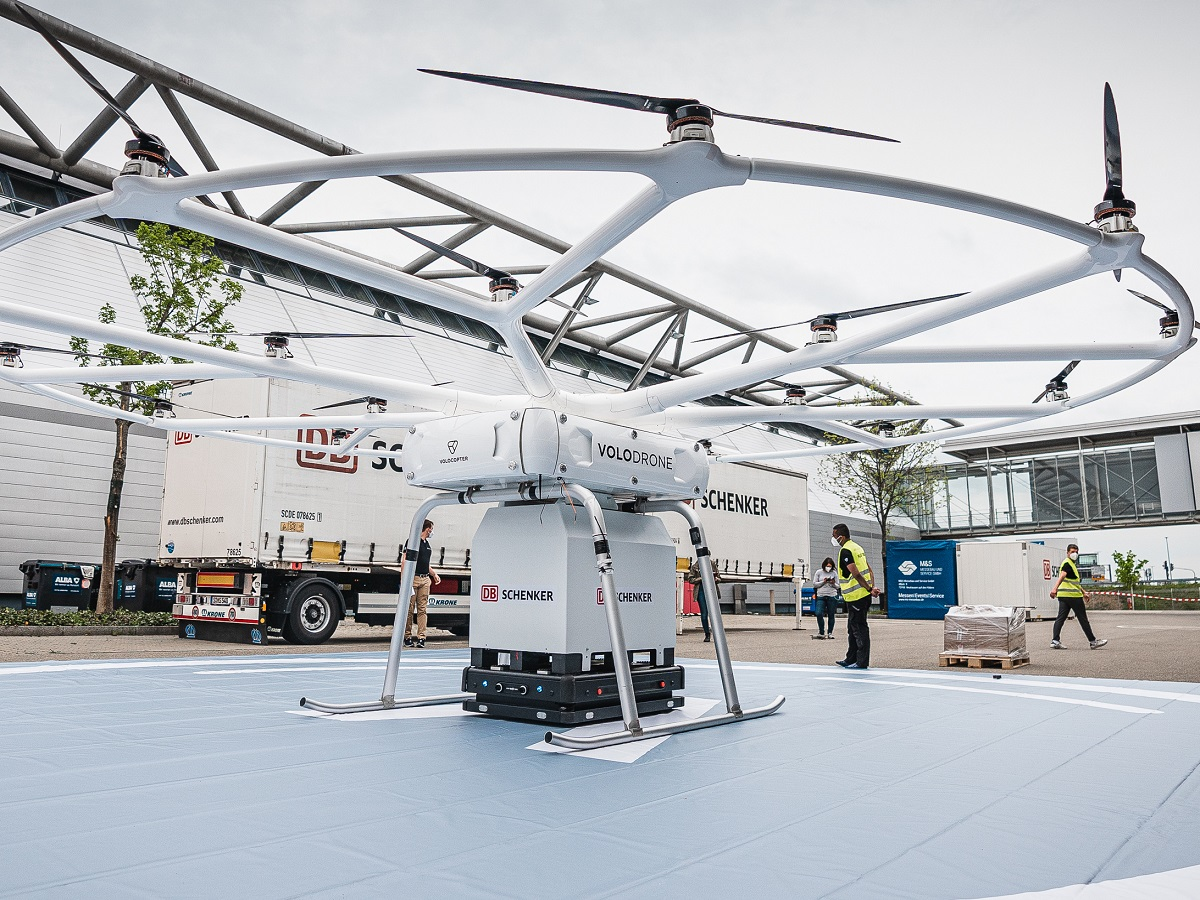 Volocopter db schenker volodrone static poc 2