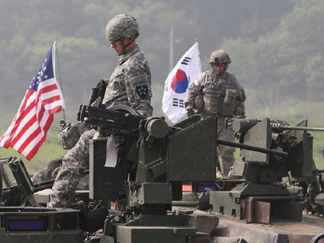 South Korea and US Begin Joint Exercise