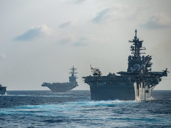 US Navy Launches Largest Exercise in 40 Years