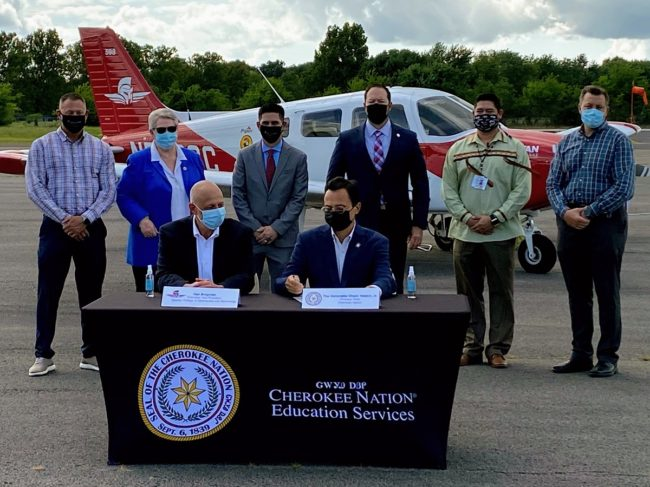 Spartan College-Cherokee Nation Partner for Pilot and Aviation Training