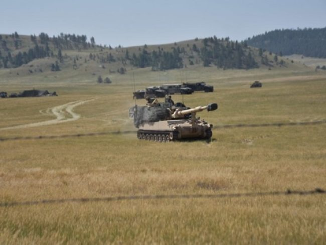US Army National Guard Participates in Smart Weapon Training