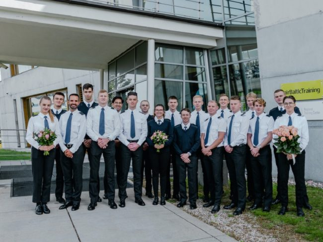 Six Students Graduate airBaltic Pilot Academy