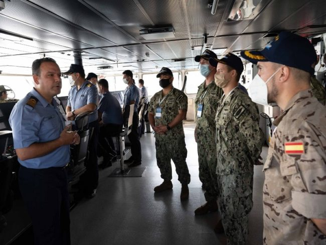 NATO Submarine Search and Rescue Exercise Underway