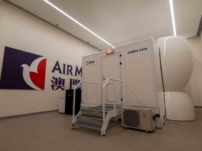 Air Macau MPS FTD Train Home