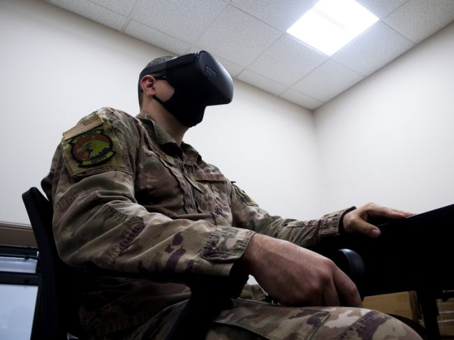 US Airmen Use VR During Suicide Prevention Training