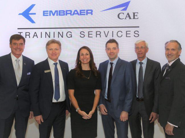 Embraer & CAE Launch Phenom 300 FFS