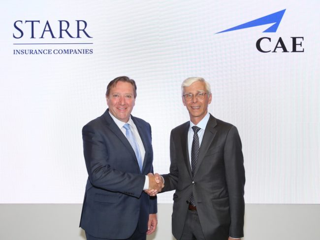 CAE Collaborates with Starr Insurance for Single-pilot Mentorship Program