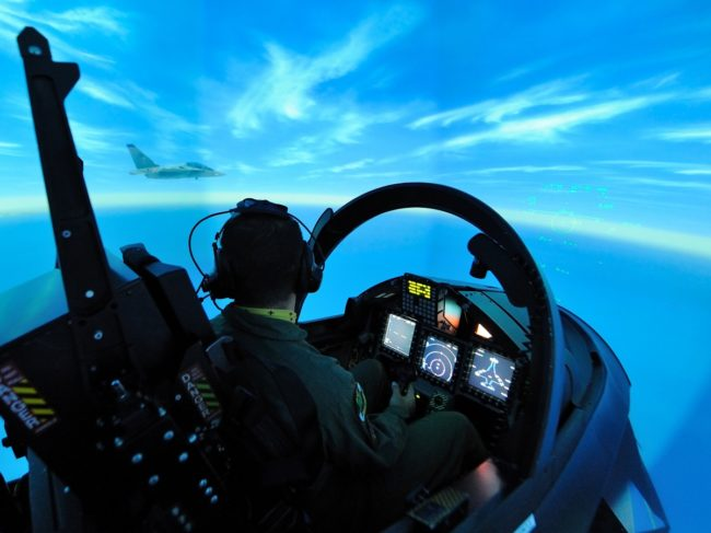 Japanese Military Signs ITPS for Pilot Training