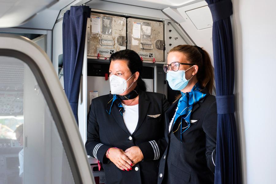 Novair cabin crew