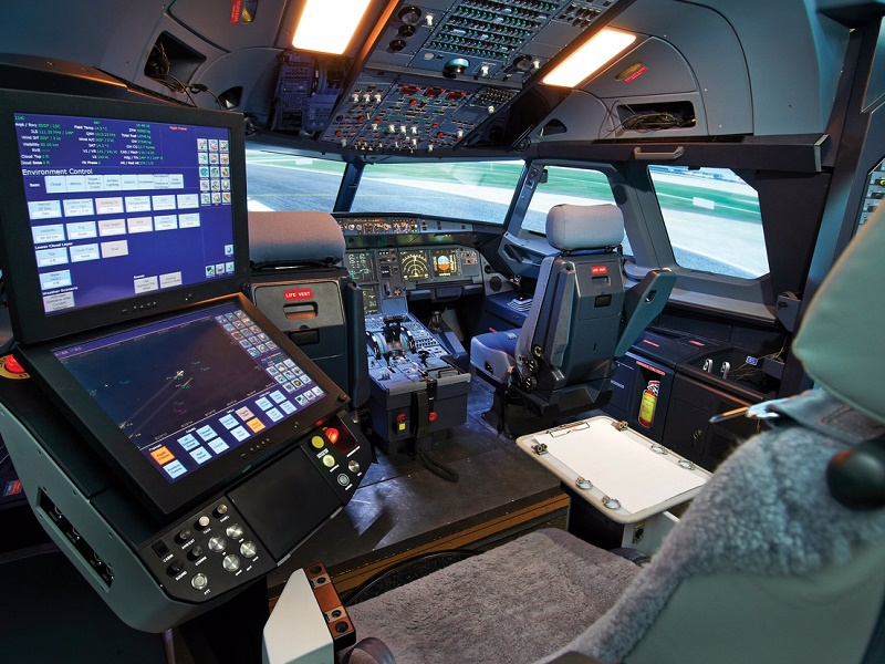 As cas image ios station co pilot seat
