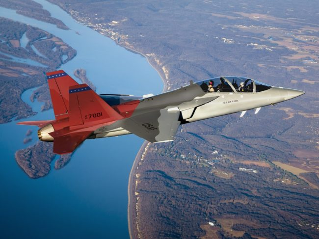 Saab Makes Delivery for T-7A Flight Test Program