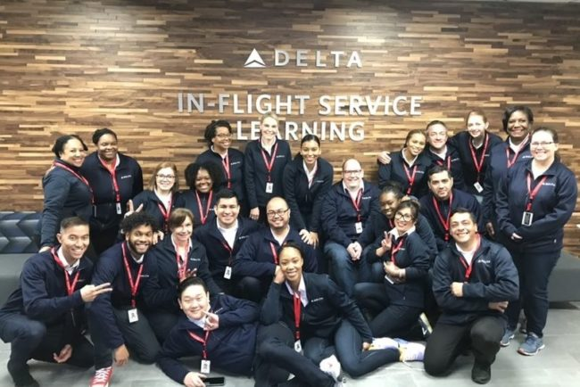 Flight Attendant Class Resumes at Delta After 523 Days