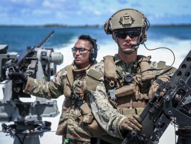 Guam National Guard & Navy Go Through Joint Training