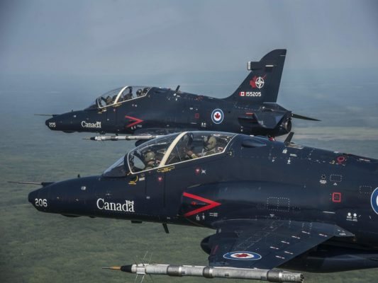 The NATO Flying Training in Canada (NFTC) program managed by CAE