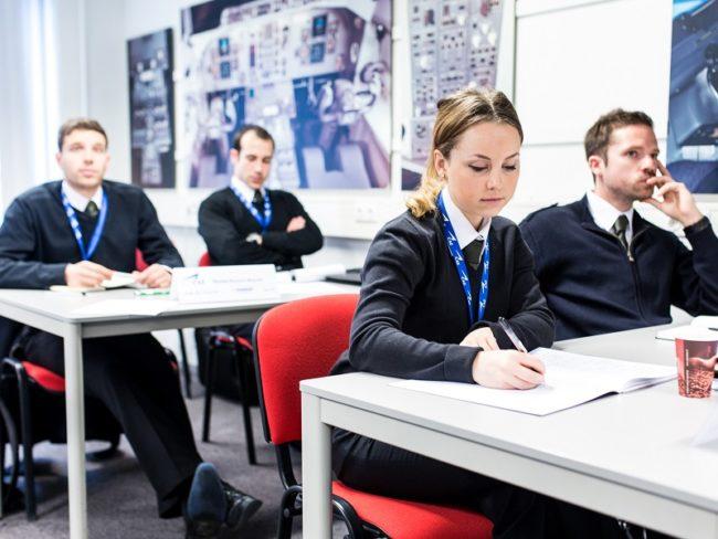 CAE cadets classroom