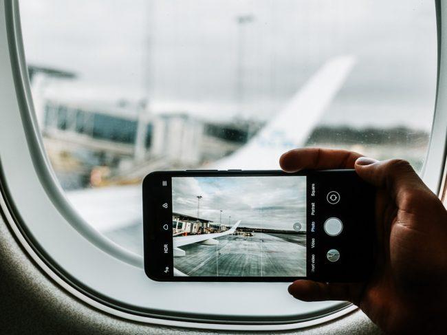 Phone on Plane 2