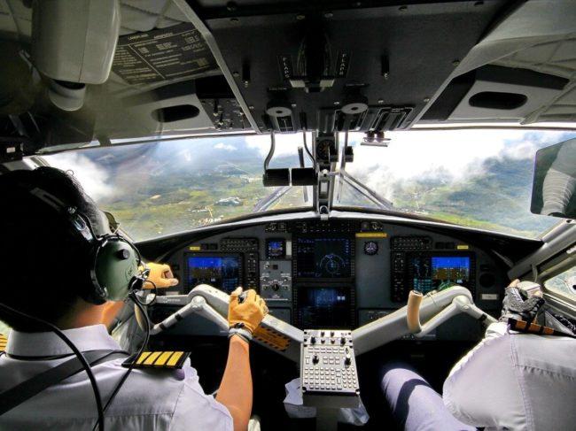 Pilots flying WATS CAT Magazine