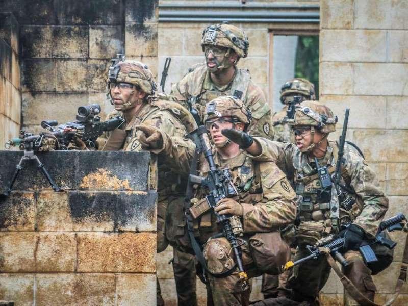 Us army training