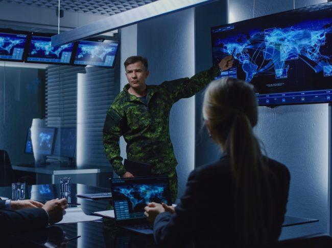 Defence presentation